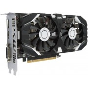 Placa Video MSI GeForce GTX 1050 2GT OC, 2GB, GDDR5, 128 bit