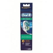 Procter & Gamble Srl Oral-B Dual Clean Testine Di Ricambio Per Spazzolino Elettrico 3 Ricambi