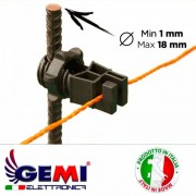 Filo conduttore 500 MT tondo 4mm quadri per recinto elettrico, recinti elettrici, recinti elettrificate