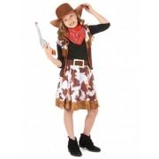 Vegaoo Cowgirl-Verkleidung für Mädchen