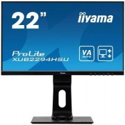 "IIYAMA ProLite XUB2294HSU-B1 - LED-monitor - 22"" (21.5"" zichtbaar) - 1920 x 1080 Full HD (1080p) - VA - 250 cd/m² - 3000:1"