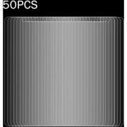 50 Pcs Para Huawei Y7 0.3mm 9h La Dureza De La Superficie (no En Pantalla Completa A Prueba De Explosion Tempered Glass Screen Film, Sin Paquete Al Por Menor