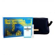 Versace Man Eau Fraiche confezione regalo eau de toilette 100 ml + eau de toilette 10 ml + trousse da uomo