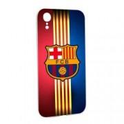 Husa de protectie Football Barcelona pentru Apple iPhone XR Silicon W237