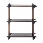 Menu Design Stick System 1 x 3 Kast Zwart Donker Essen
