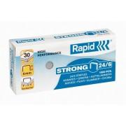 Capse strong 24/6 1000 bucati/cutie Rapid