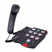 Telefon fix Fysic FX-3200 cu butoane mari si poze