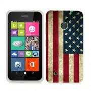 Husa Nokia Lumia 530 Silicon Gel Tpu Model USA Flag