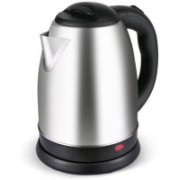 KitchenFest 1.8 L Stainless Steel Cordless Tea/Coffee/Hot Water Boiler Electric Kettle(1.8 L, Silver, Chrome)