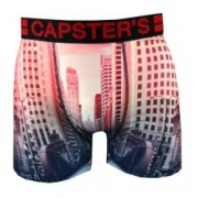 Boxer Capster's Enfant motif Ville Street