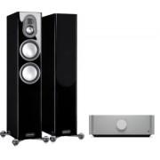 Pachete PROMO STEREO - Monitor Audio - Gold 200 (5G) + Cambridge Audio Edge A Satin White
