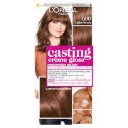 L'Oréal Paris Casting Crème Gloss Semi Permanent Hair Dye (Various Shades) - 600 Light Brown