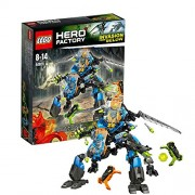 Lego Hero Factory Surge and Rocka Combat Machine