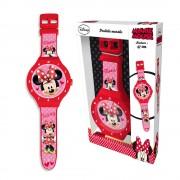 Disney Mimmi Pigg Väggklocka, stort armbandsur