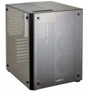 Lian-Li PC-O8SWX - ATX-Gehäuse - schwarz Window