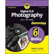 Digital SLR Photography All-In-One for Dummies, Paperback
