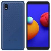 Samsung Galaxy A01 Core (16 GB, 1 GB de RAM) 5.3 pulgadas, batería de 3000 mAh, US & Global 4G LTE GSM Modelo internacional desbloqueado A013M/DS (azul)