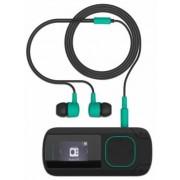 MP3 Player Energy Sistem ENS426508, 8 GB, Radio FM, Clip (Negru/Verde)