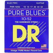 DR Strings PHR-10/52 Electric Guitar 10/52 Pure Blues
