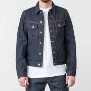 Nudie Jeans Kenny Dry Ecru Embo Jacket Denim