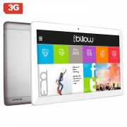 """Tablet 10.1"""" BILLOW Quadcore 16GB / 3G / HD IPS / Dual SIM / WIFI + BT + GPS, Android 7.0, Silver -"""""""""""
