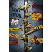 Zombie Hands - Dörr- / väggdekoration i Plast 76x152 cm