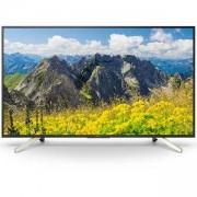 Телевизор Sony KD-43XF7596 43 инча, 4K HDR TV BRAVIA, Edge LED with Frame dimming, Processor 4K X-Reality PRO, Android TV 7.0, Черен, KD43XF7596BAEP