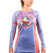 Fusion Fight Gear Wonder Women DC Bombshells manches longues Rashguard fusion de comb...