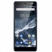 "Nokia 5.1 2018 Telefon Mobil Dual Sim 5.5"" 16GB 2GB RAM Albastru"
