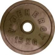 Диск за щанга 15 кг. Ø50 мм.