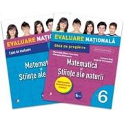 Evaluare nationala. Matematica si stiinte ale naturii. Ghid de pregatire. Clasa a VI-a/***