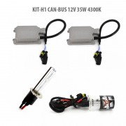 Kit Xenon H1 CAN-BUS 12V 35W 4300K, Carguard