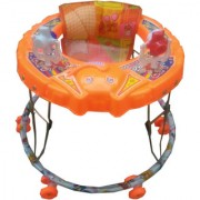 Suraj Baby orange Elephant Walker For Your Kids SE-W-33