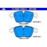 Placute frana ATE - 607228
