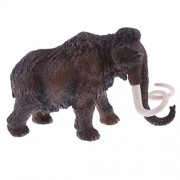 Realistic Plastic Wildlife/Farm Animal Model Figurine Insects Figures Kids Science & Nature Educational Toy Home Office Decoration - large elephant