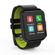 GHIA RELOJ-17 Smart Watch Pantalla 1.54 Touch, Bluetooth, iOS, Android, Negro/Verde
