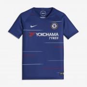 Maillot de football 2018/19 Chelsea FC Stadium Home pour Enfant plus âgé - Bleu