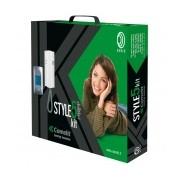 Comelit Kit Audio Unifamiliar Style5, sólo Audio, 5 Hilos, Montaje en Superficie y/o Empotrado