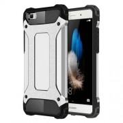 Huawei P8 Lite Tough Armor TPU + PC Combination Case(Silver)