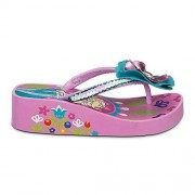 Disney Frozen Anna and Elsa Platform Flip Flop for Girls Size 11/12 New with Tag