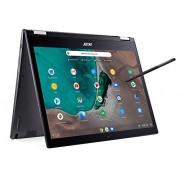 Acer Chromebook Spin 13 CP713-1WN-53NF 2 en 1 convertible, 8. generación Intel Core i5-8250U, visualización táctil de resolución 2K, 8 GB LPDDR3, 128 GB eMMC, teclado retroiluminado, chasis de aluminio, Solo Chromebook, Gris o, 34.2 cm