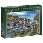Jumbo Falcon puzzel Summertime Harbour - 1000 stukjes