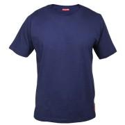 Tricou bumbac / albastru - xl