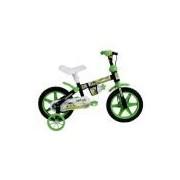 Bicicleta Infantil Aro 12 Houston Mini Boy MB12J com Squeeze e Rodinhas