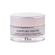 Christian Dior Capture Youth Age-Delay Progressive Peeling Creme crema giorno per il viso per tutti i tipi di pelle 50 ml donna scatola danneggiata