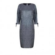 VITO VERGELIS Sukienka ze srebrnym deseniem (Kolor: srebrny, Rozmiar: 38)