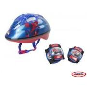 Spiderman - Set Protectie (Casca, Genunchiere, Cotiere)