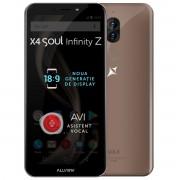 Telefon mobil Allview X4 Soul Infinity Z, Dual SIM, Mocha Gold, RAM 4GB, Stocare 32GB