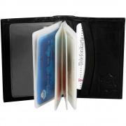 Kreditkortsplånbok svart