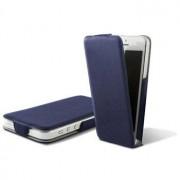iPhone 5 / 5S / SE Ksix Ultra Slim Flip PU Lederen Case - Blauw